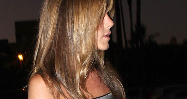 Jennifer Aniston Dinner In Hollywood