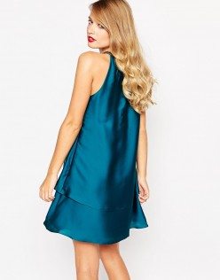 ASOS Coast Marley Satin Dress 2