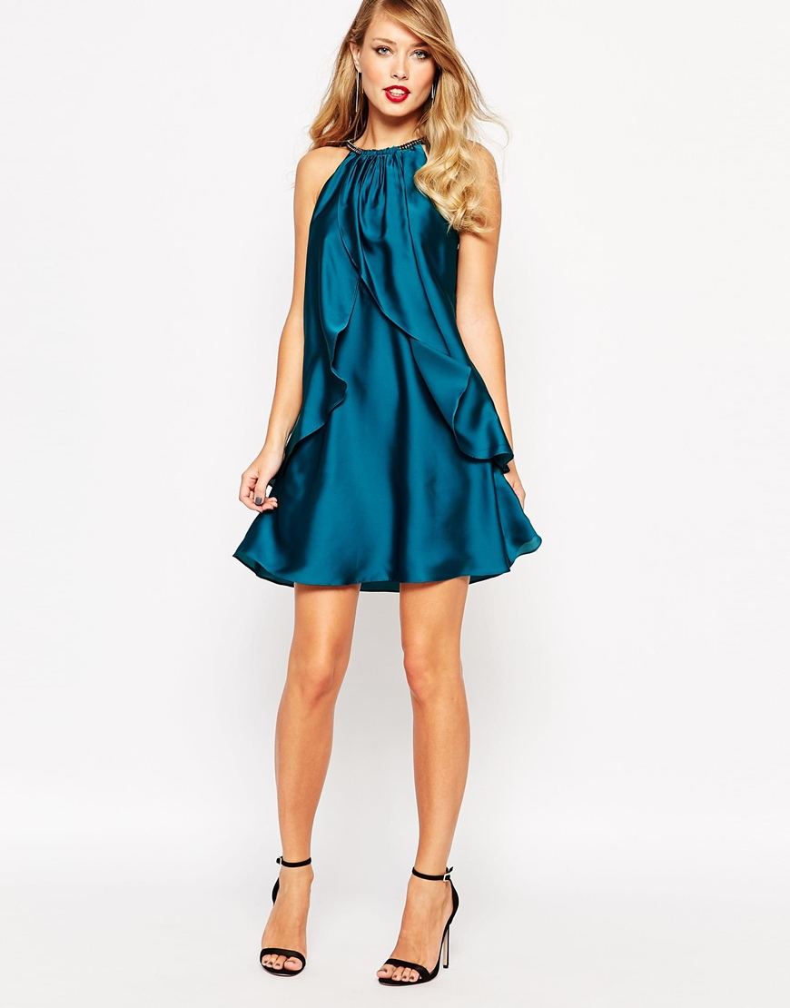 ASOS Coast Marley Satin Dress 4