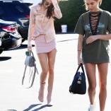 Kendall Jenner Fred Segal Shopping Candids 11