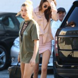 Kendall Jenner Fred Segal Shopping Candids 13