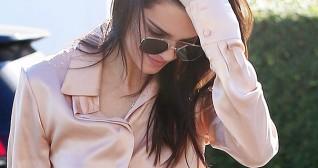 Kendall Jenner Satin