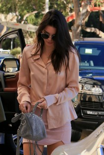 Kendall Jenner Fred Segal Shopping Candids 41