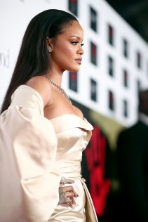 Rihanna 2nd Annual Diamond Ball 12