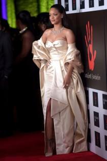 Rihanna 2nd Annual Diamond Ball 21