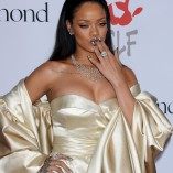 Rihanna 2nd Annual Diamond Ball 40