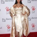 Rihanna 2nd Annual Diamond Ball 72