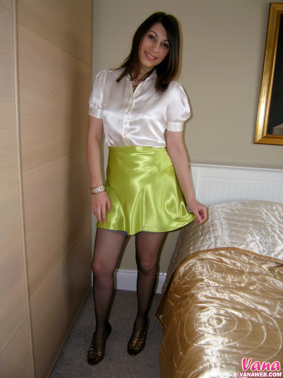 Satin Panties And Stockings