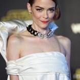 Jaime King Star Wars The Force Awakens Premiere 12