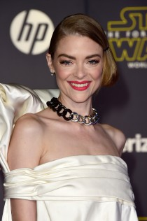 Jaime King Star Wars The Force Awakens Premiere 13