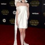 Jaime King Star Wars The Force Awakens Premiere 4