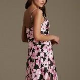 Marks And Spencer La Maison De Senteurs Floral Satin Nightwear 3
