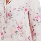 Marks And Spencer Rosie For Autograph Blur Floral Satin Nightwear 12