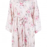 Marks And Spencer Rosie For Autograph Blur Floral Satin Nightwear 2