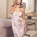 Marks And Spencer Rosie For Autograph Blur Floral Satin Nightwear 6