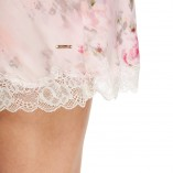Marks And Spencer Rosie For Autograph Blur Floral Satin Nightwear 8