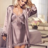 Marks & Spencer Rosie For Autograph Pure Silk Lace Nightwear 14