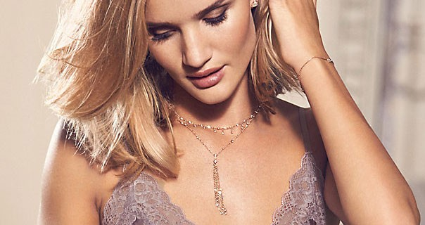 Marks And Spencer Rosie For Autograph Pure Silk Lace Nightwear