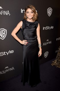 Sarah Hyland 2016 InStyle And Warner Bros Golden Globe Awards Post Party 3
