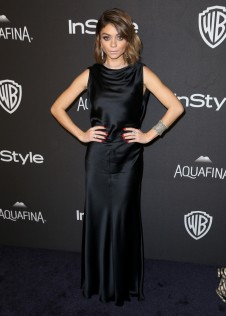 Sarah Hyland 2016 InStyle And Warner Bros Golden Globe Awards Post Party 9