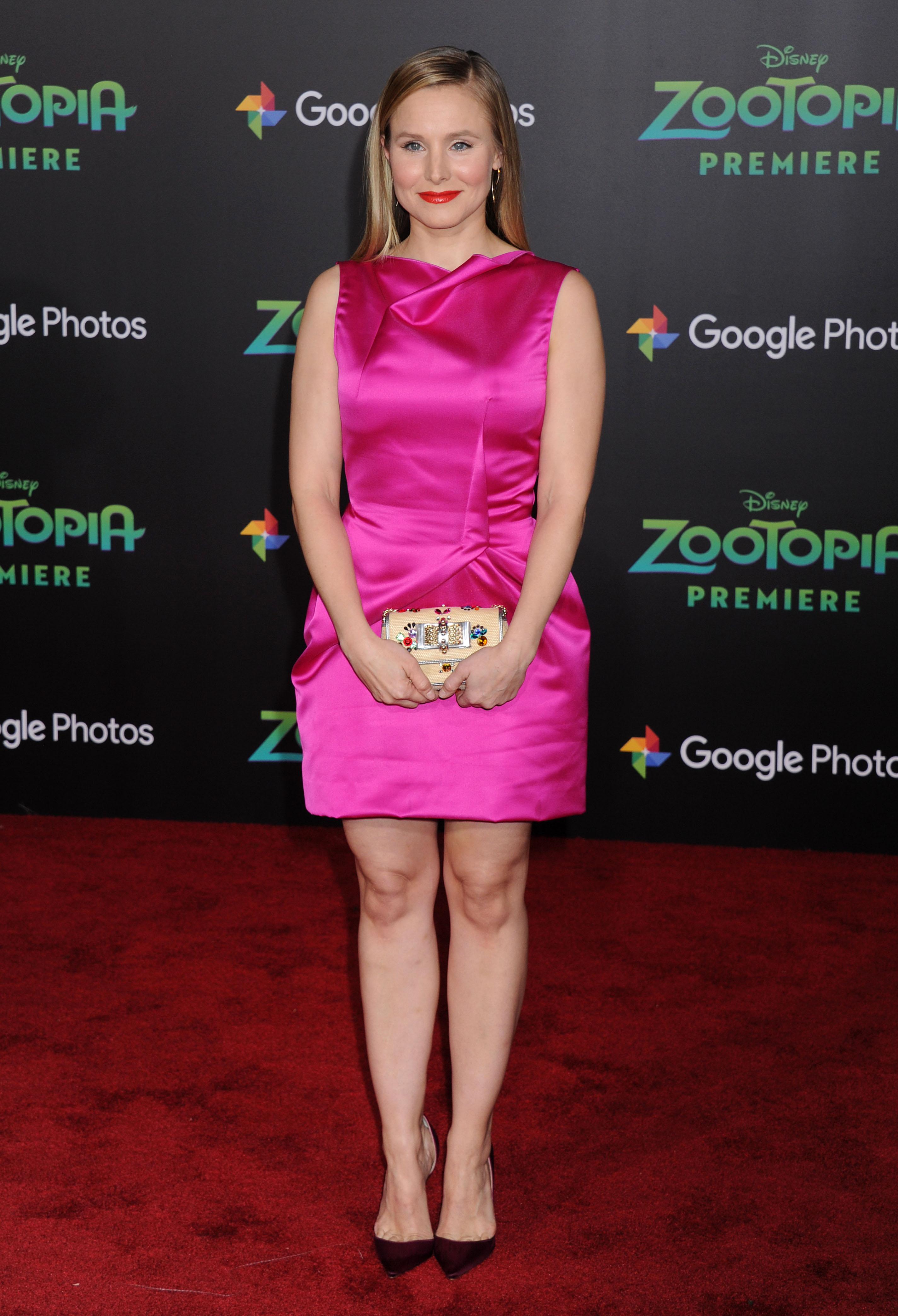 Kristen Bell Zootopia Premiere 1