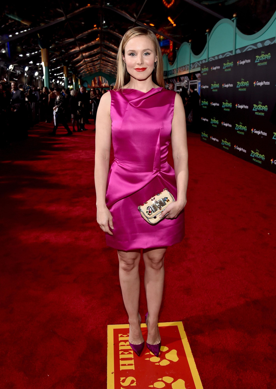Kristen Bell Zootopia Premiere 2