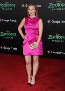 Kristen Bell Zootopia Premiere 7