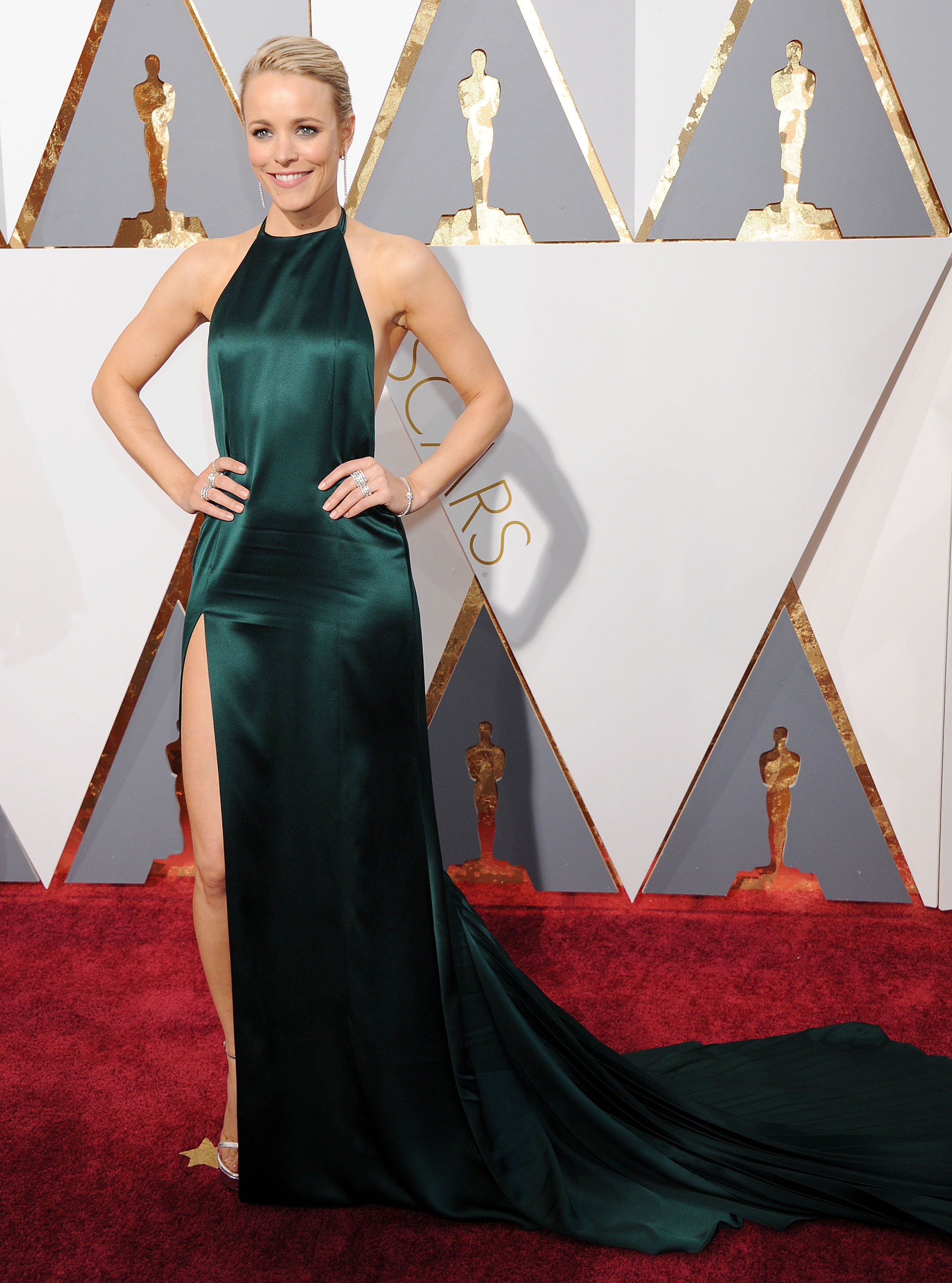 Rachel McAdams 88th Academy Awards 2 - Satiny Rachel Mcadams