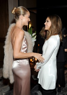 Rosie Huntington-Whiteley Galvan For Opening Ceremony Dinner 3