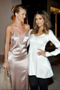 Rosie Huntington-Whiteley Galvan For Opening Ceremony Dinner 4