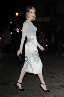 Emma Roberts H&M Fashion Show Paris Fashion Week 2016 11