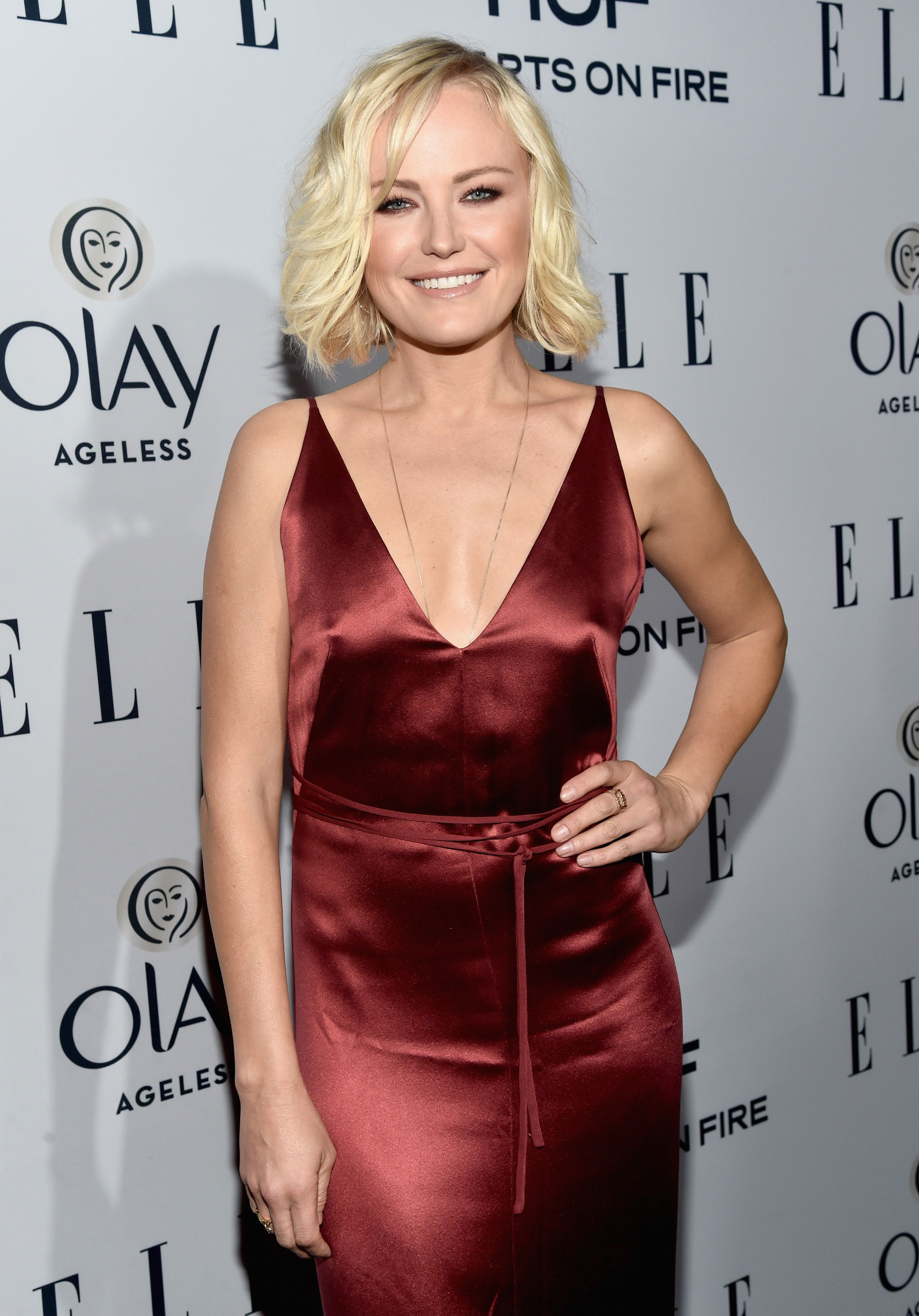 Elle 6th Women In Television Dinner on a dark place