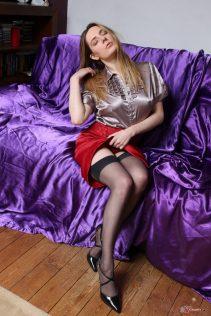 Sexy Satin Silk Fun March 2016 1