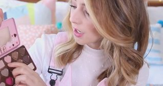 Zoella I Then Used Satin Sheets