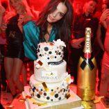 Emily Ratajkowski Intrigue Nightclub Birthday Party 12