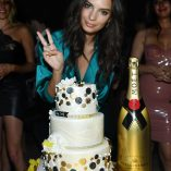Emily Ratajkowski Intrigue Nightclub Birthday Party 8