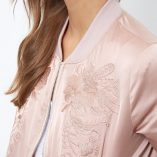 New Look Shell Embroidered Bomber Jacket 5