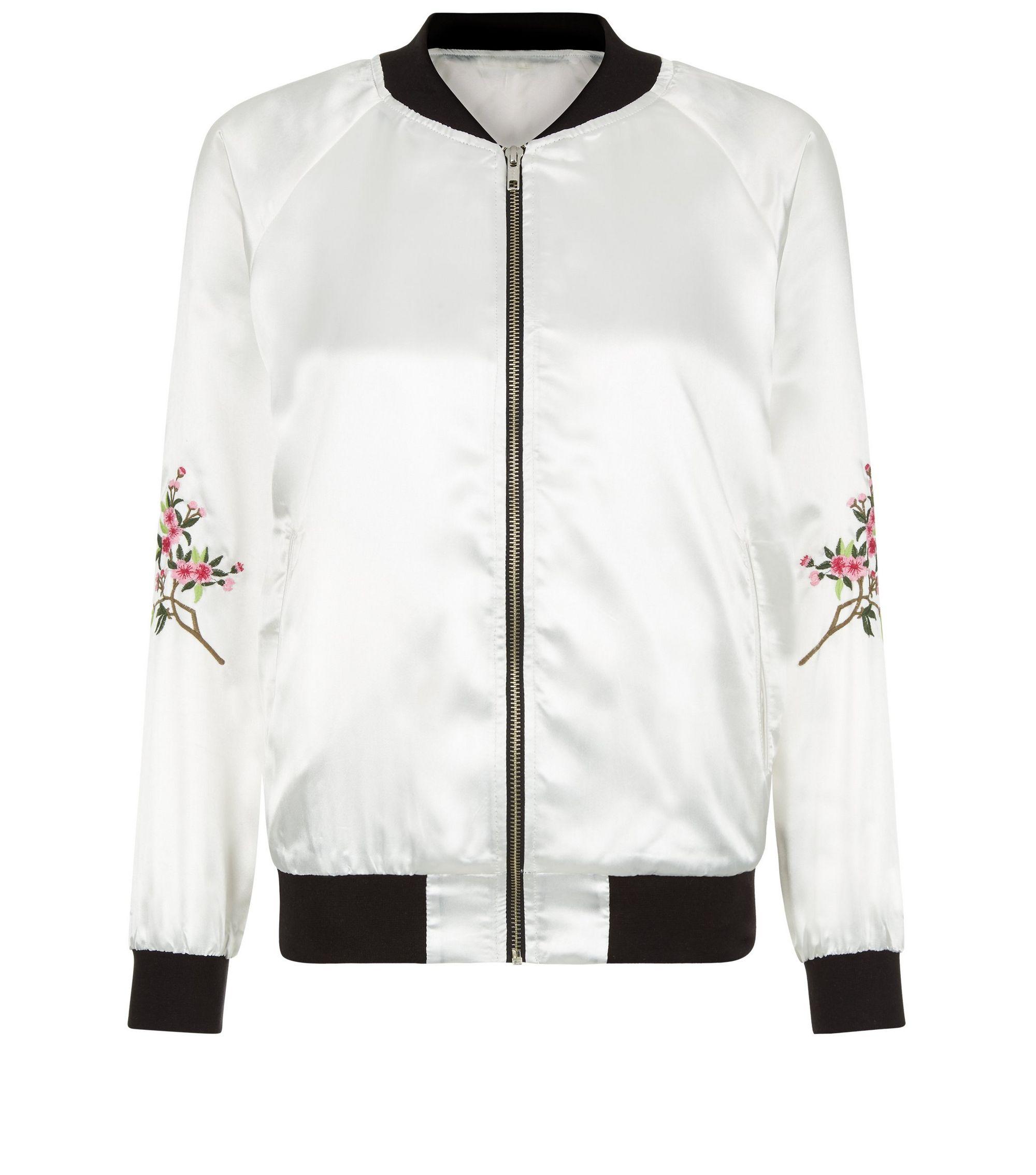 New look embroidered jacket makaroka