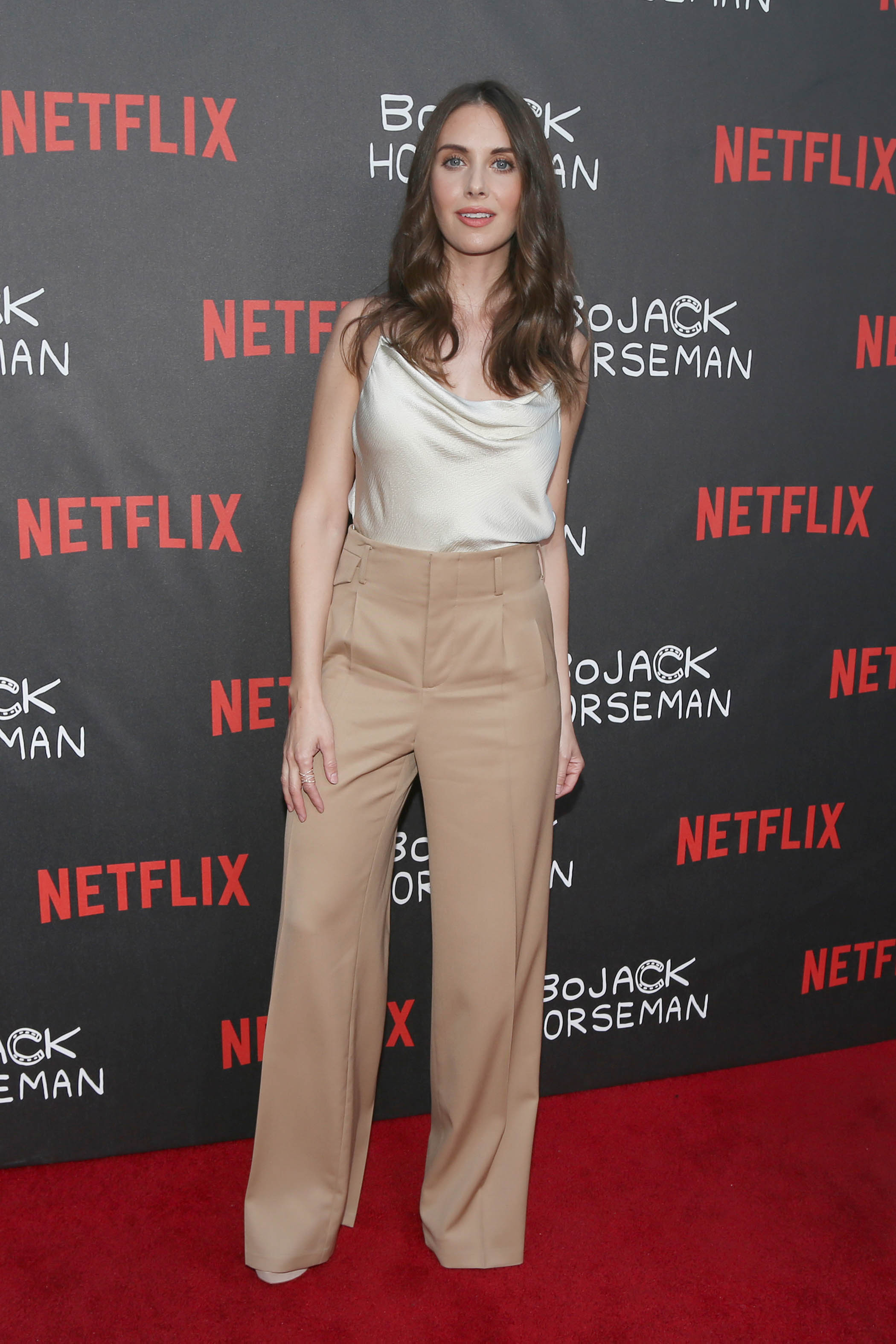 Alison Brie Bojack Horseman Special Screening 2 - Satiny