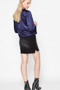 John Lewis Miss Selfridge Satin Bomber Jacket 13