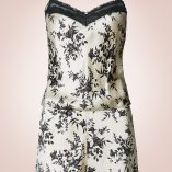 Marks And Spencer Silk And Lace Black Mix Print Set 10