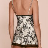 Marks And Spencer Silk And Lace Black Mix Print Set 4
