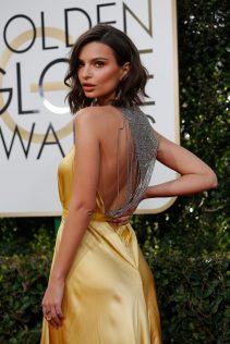 Emily Ratajkowski 74th Golden Globe Awards 52