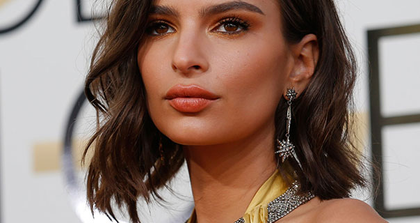Emily Ratajkowski 74th Golden Globe Awards