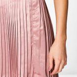 Boohoo Emilia Matte Satin Pleated Mini Skirt 4