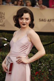 Maisie Williams 23rd Screen Actors Guild Awards 5