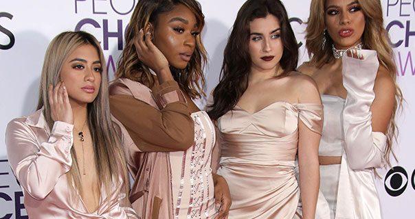 Fifth Harmony 2017 Peoples Choice Awards