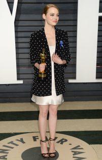 Emma Stone 2017 Vanity Fair Oscar Party 10