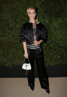 Katy Perry CHANEL Gabrielle Bag Dinner 1