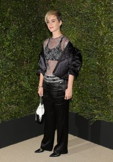 Katy Perry CHANEL Gabrielle Bag Dinner 15